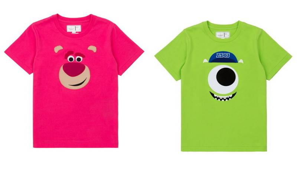 :CHOCOOLATE | Disney•Pixar角色大頭圖案tee 女裝$279 童裝$219