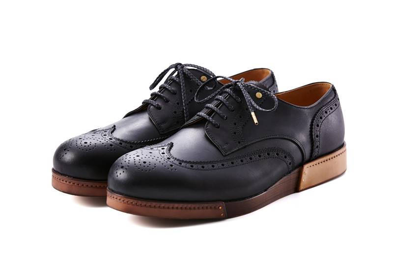 Joli_Leather Madgard Wingtip - black