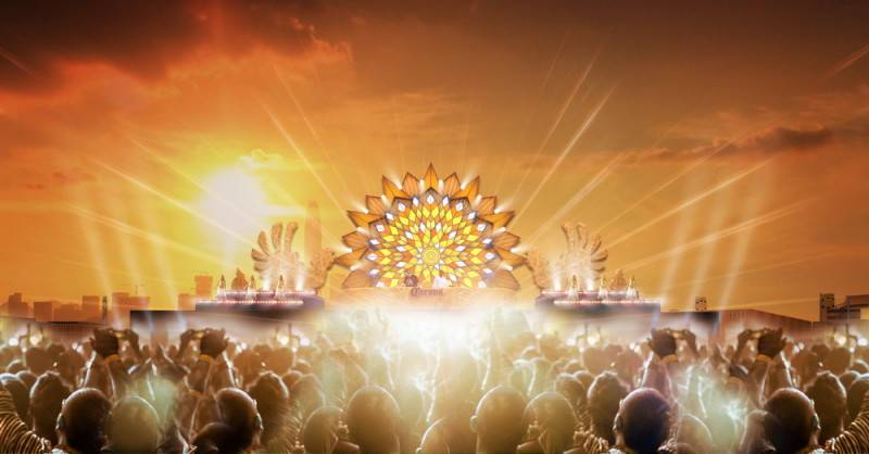 Corona Sunsets Festival mock up 2
