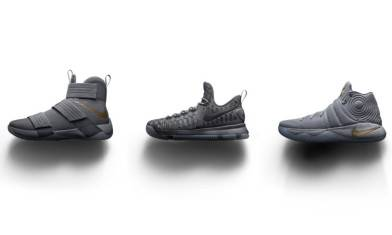 NIKE Basketball「Battle Grey」Pack 從零開始