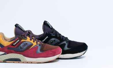 Billy's x Saucony Grid 9000「Nippon」日系風格