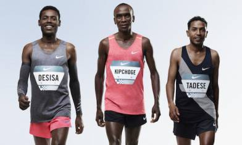 NIKE Breaking2 計劃!3精英跑手將挑戰2小時完成馬拉松