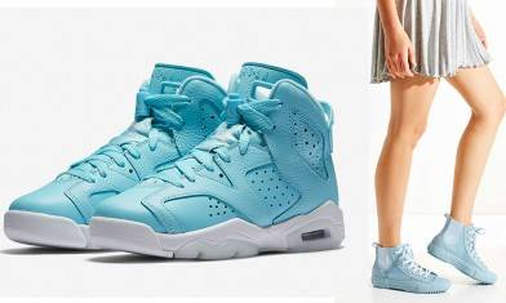 不敗Pantone顏色!5對少女系 粉藍色波鞋
