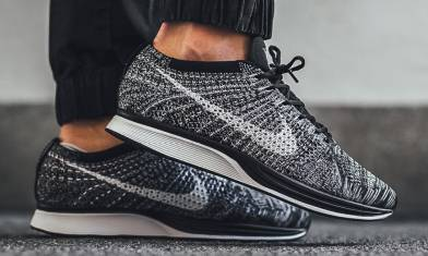 Flyknit Racer Oreo突襲 齊碼上架再度入手!
