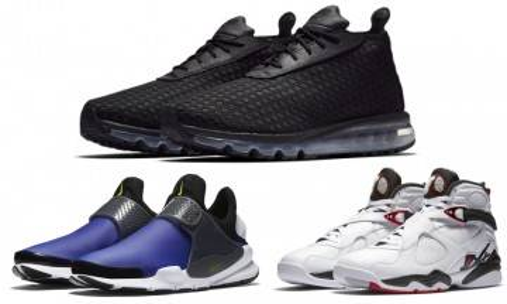 8對必入手NIKE波鞋 全新AIR MAX WOVEN、新版Sock Dart到着