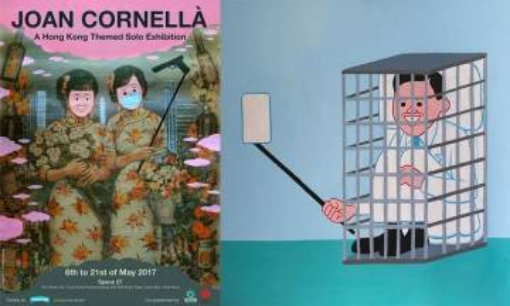 Cult爆漫畫家 Joan Cornellà 再度來港! 率先睇香港全新作品