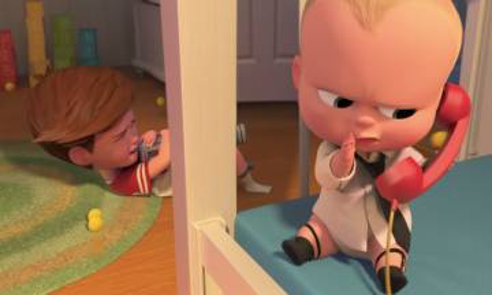 夢工廠宣布會有《波士BB 2》!艾力寶雲再化身穿西裝的賤嘴寶寶