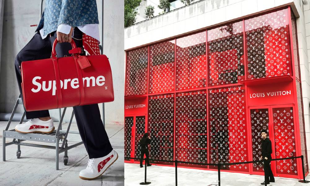 Supreme x LV Pop-up Store NMfeature