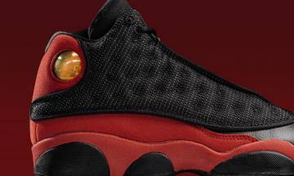 紅黑紅紅黑 Air Jordan 13 Bred元年回歸
