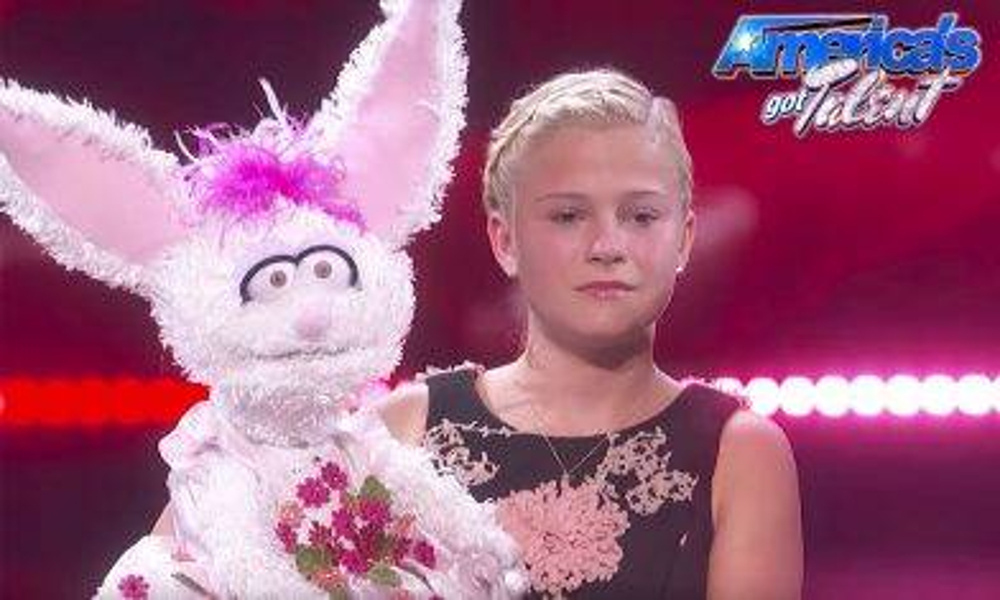 全美一叮冠軍出爐 「腹語妹妹」Darci Lynne大熱勝出
