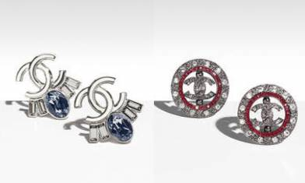 Chanel耳環2017/18 夾耳式新款晒冷
