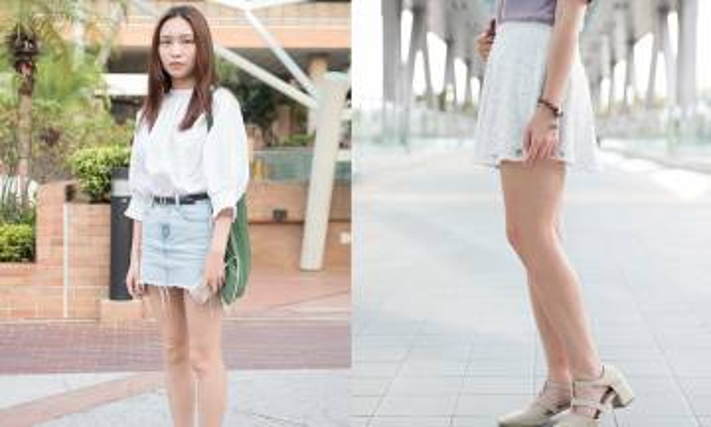 【街頭Snapshot實拍】百搭易襯 13個女生短裙穿搭示範
