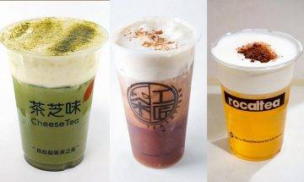 【邊間最好飲】珍珠奶茶以外新貴!全港必飲10大芝士奶蓋茶|記者試食|