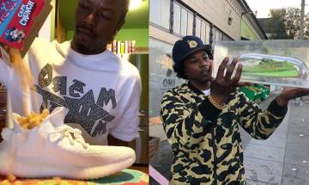 Kanye West外甥麥片哥教你潮鞋、yeezy「食用法」睇到心痛兼肉赤