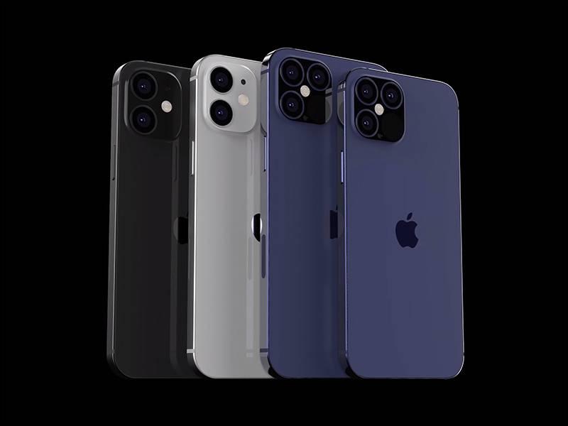 高仿苹果12, 4镜头, 苹果, Apple, 全屏幕, iOS, 四镜头, 参数, 发售日期, 大小, 谍照, 消息, 设计, 价钱, 颜色, 几时出