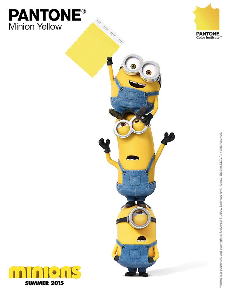 Pantone-Minion-Yellow-Minions-Pinterest