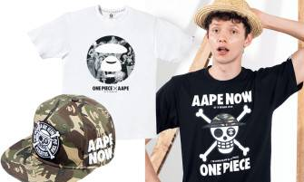 Aape × One Piece 我要成為海賊猿