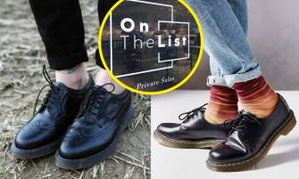 Dr. Martens 香港快閃Outlet!狂掃大量經典鞋款低至兩折!