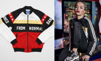 adidas Originals by Rita Ora ,秋冬「Banned From Normal」不正常模式啟動!