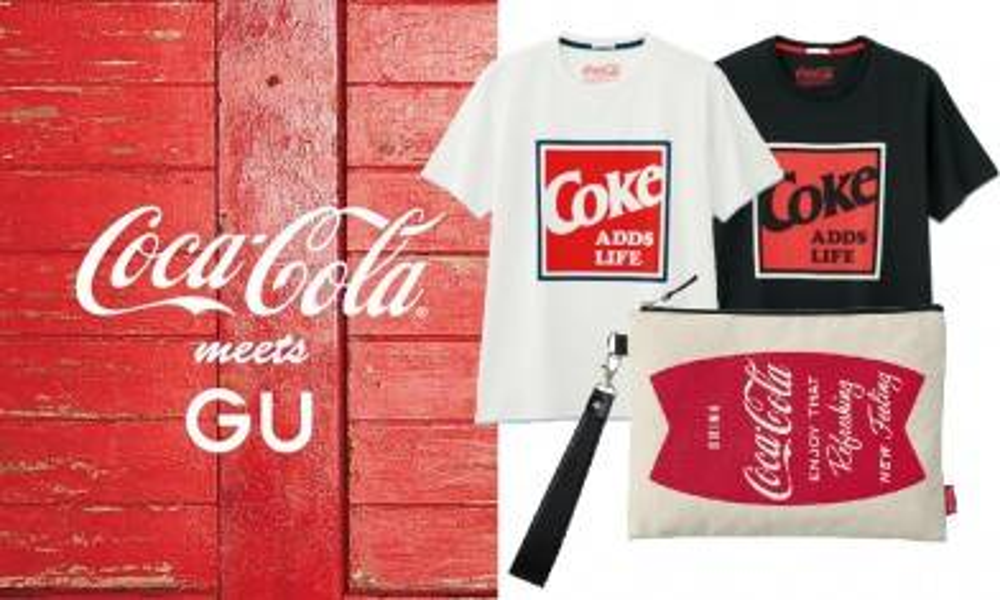 GU x COCA-COLA聯名男女裝系列 必買復刻可樂Tee