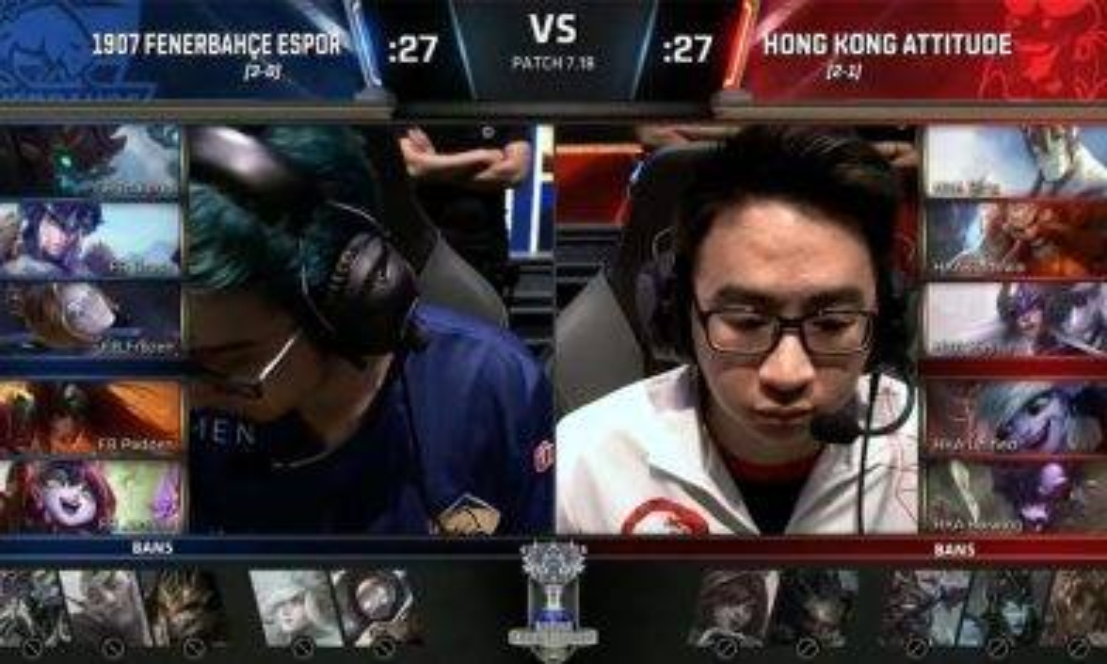 【英雄聯盟世界賽2017-外圍賽】HKA 香港態度晉級第2輪
