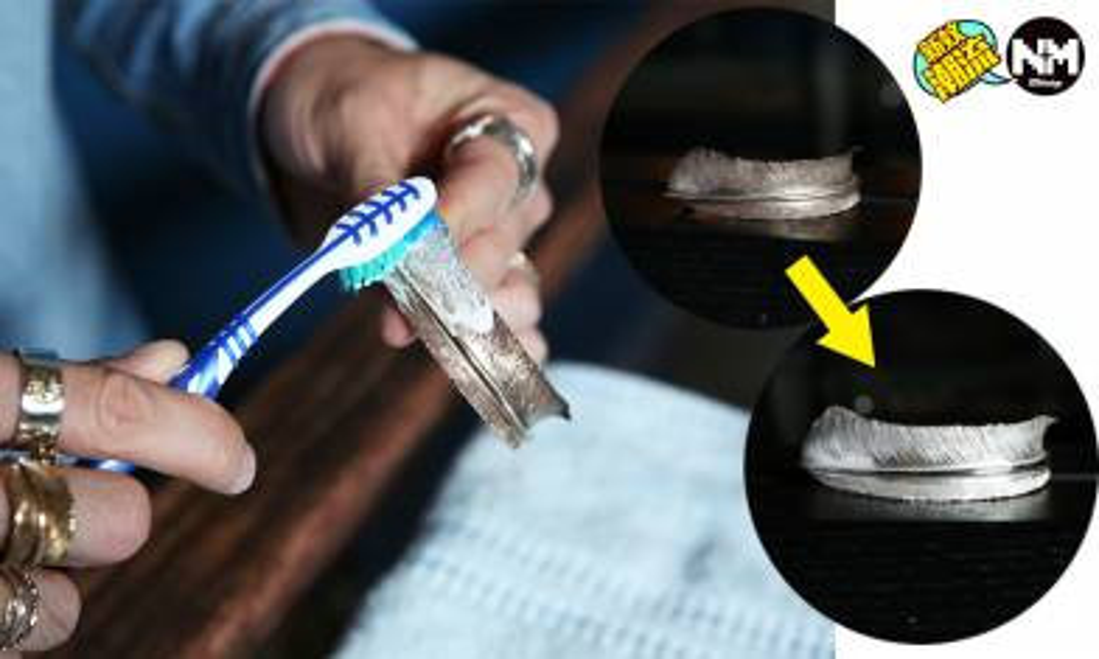 洗銀器必學6招簡單方法 牙膏及牙刷可令銀器重回光澤 Goro's、Chrome Hearts友注意!