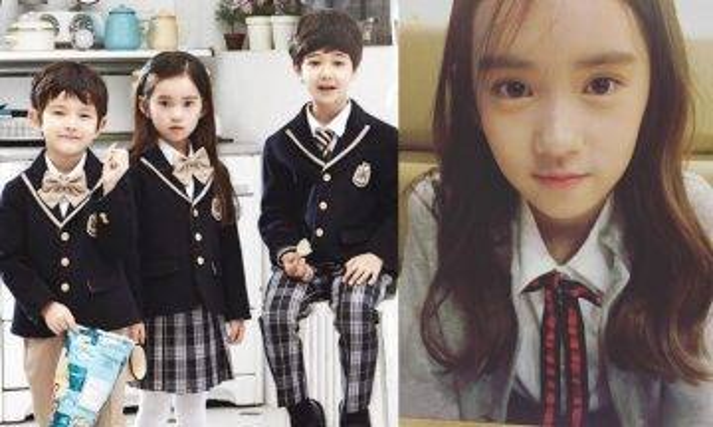 10歲絕美小女孩鄭元熙簽約南韓第一大SM娛樂!韓星由細個做起!