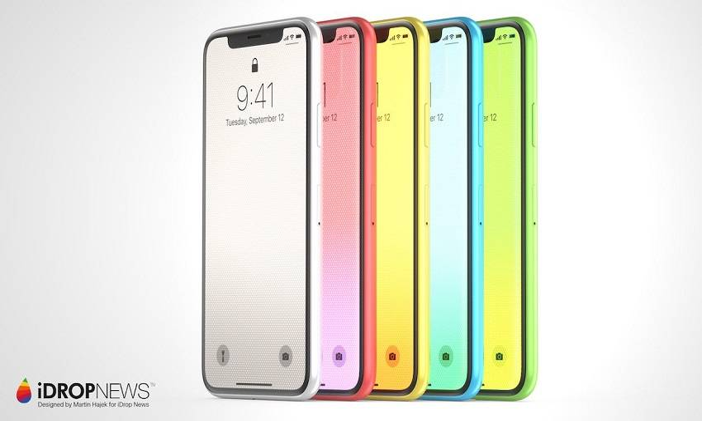 平民版iPhone X傳有多達6種配色