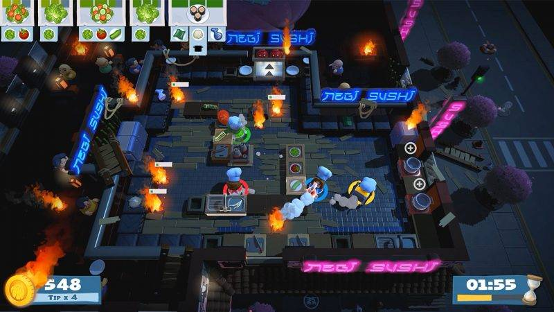 Overcooked, Overcooked 2, Switch, Game, PS4