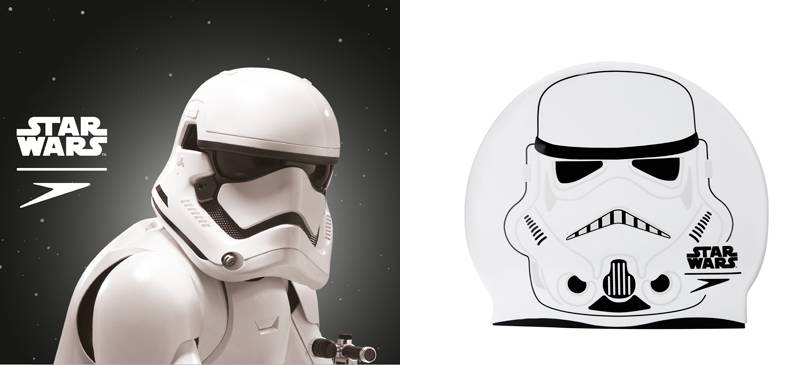 Speedo x Star Wars Stormtrooper泳帽 $169