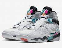 夏日粉色!Air Jordan 8「South Beach」迎接涼風