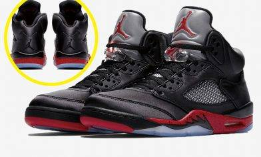 光澤感爆燈!Air Jordan 5 Retro「Satin」黑紅上架