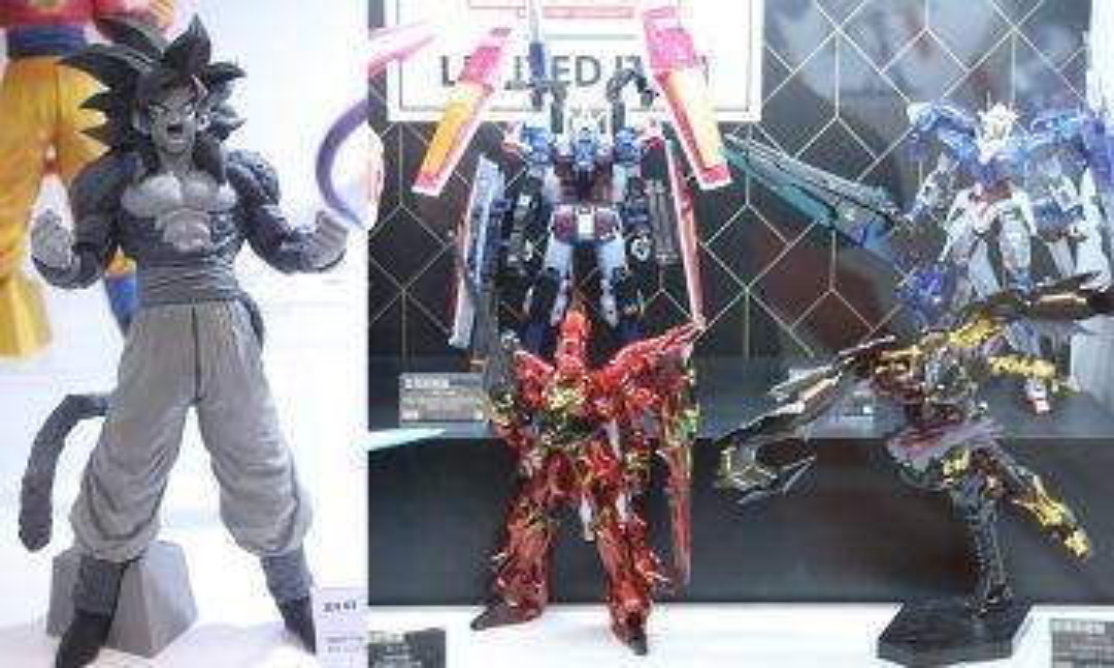 【新蚊玩呢啲】C3AFA 10大必買抵買高達模型Figure 必搶限定暗黑版超4悟空!
