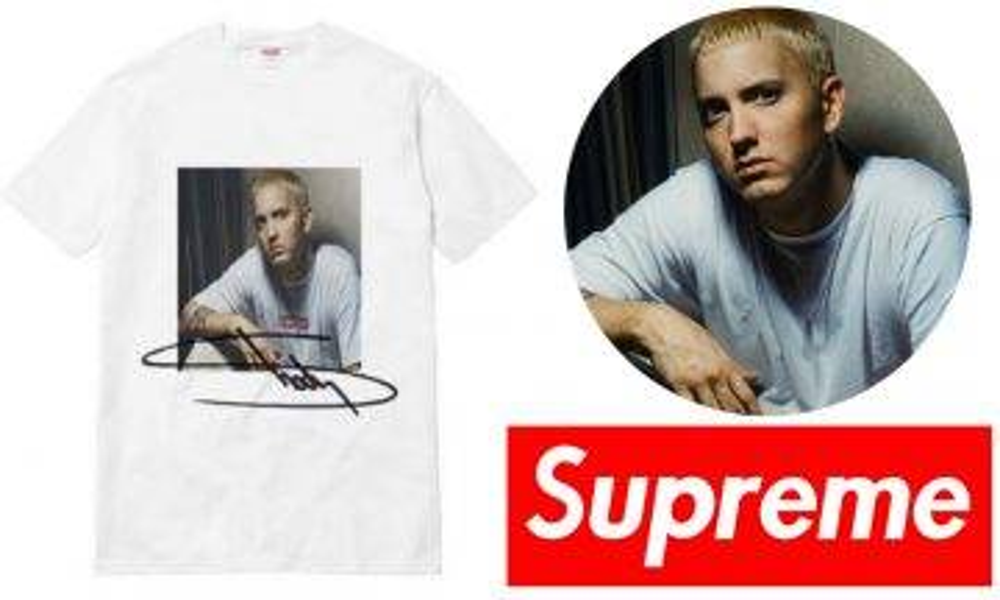 Supreme SS19 網上瘋傳將推Eminem致敬Print Tee!呢件又可以直上天價啦!