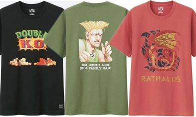 $99怒搶街霸、芒亨Tee!UNIQLO UT x CAPCOM 4月香港全線登場