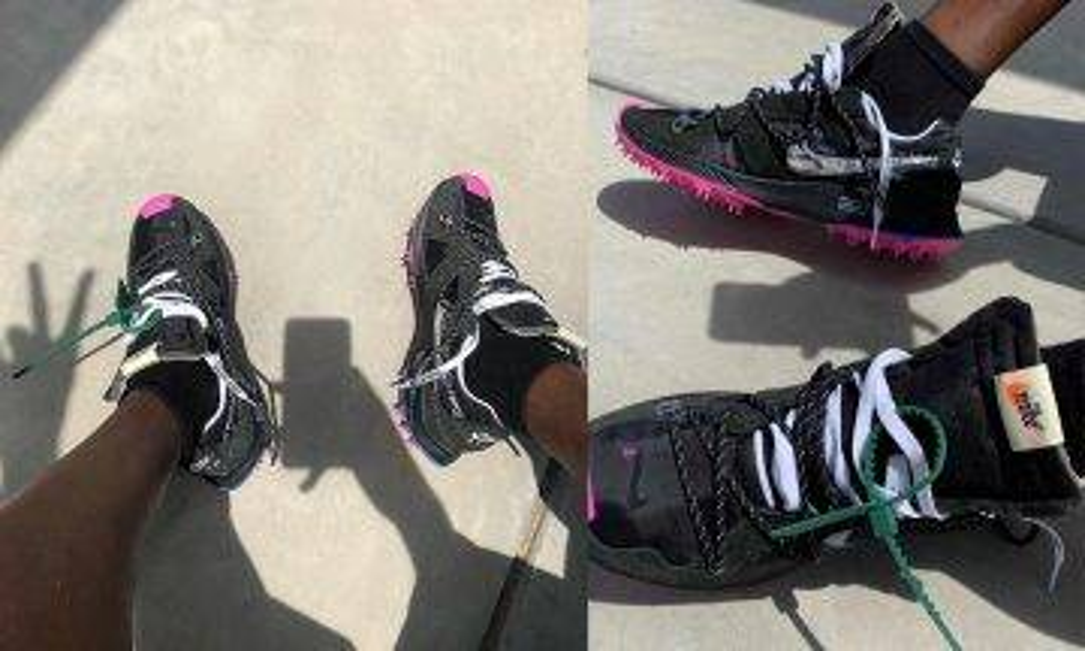 Virgil Abloh IG率先曝光疑似Nike x Off-White最新聯乘鞋款 網民:同對登山鞋有咩分別|新蚊潮流|