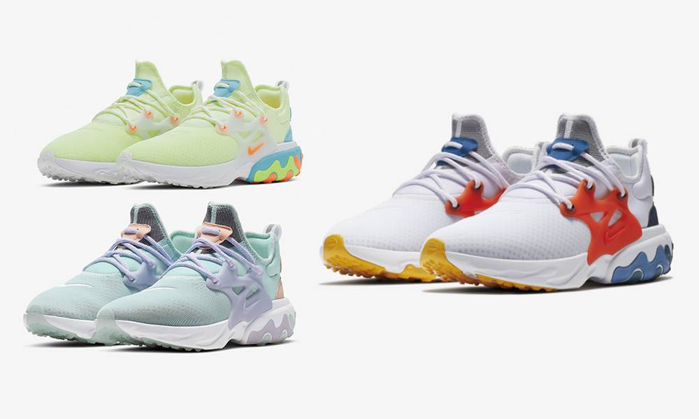 女生最愛!Nike React Presto 系列三款清新配色突襲!