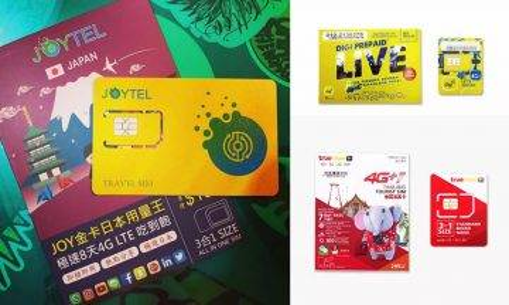 【SIM card攻略】最平$1用1日都有!網購7款超抵旅行SIM Card +Wifi蛋推介