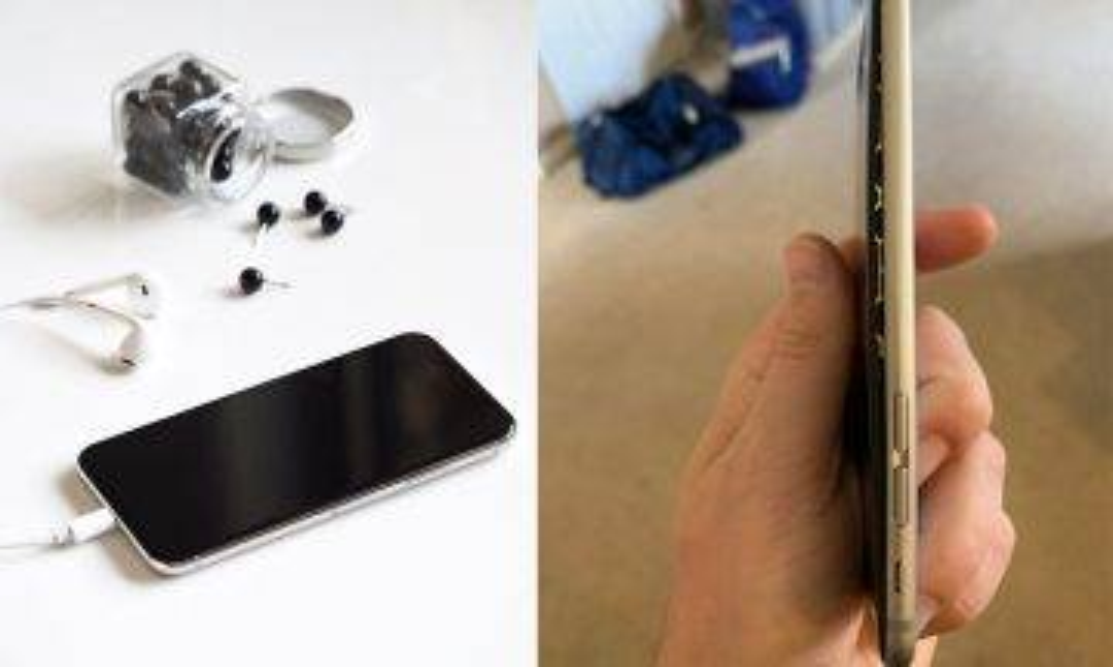 iPhone X電池膨脤!旅行途中機殼爆開螢幕分離極危險!|新蚊熱話|