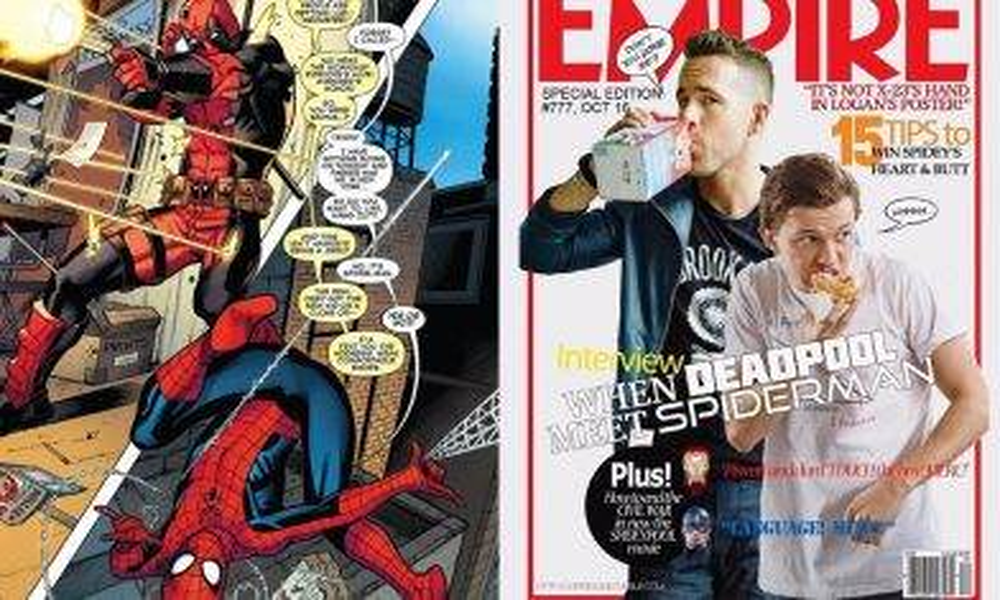 《蜘蛛俠:決戰千里》(Spider-Man: Far From Home)中會有死侍出現?!Marvel CEO擬出3個死侍加入MCU方法!|新蚊娛樂|