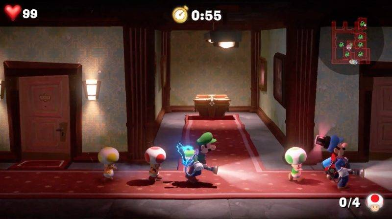 Luigi Mansion 3, Switch, 2019, 路易鬼屋3