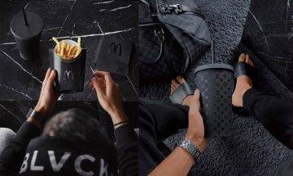 全黑設計潮流來襲 連M記都玩「黑」包裝|新蚊潮流|