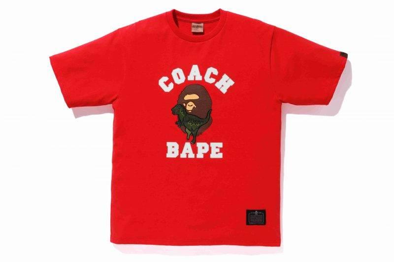 BAPE x COACH Rexy Tee <img class=