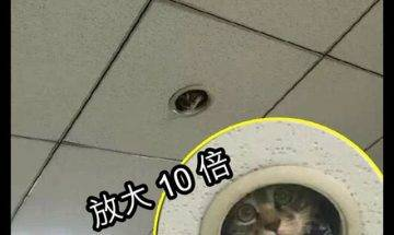 【#真係架點解既好叻呀】呢個CCTV,真係好隱蔽!