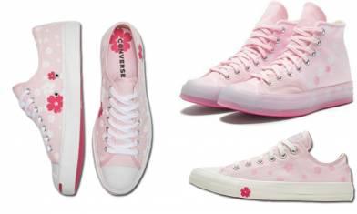 Converse推出3款全新櫻花粉系列 滿足你的少女心!|早買早享受