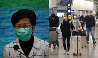 【香港入境】3月25日淩晨起,所有非香港居民乘飛機抵港不准入境|時事新聞台
