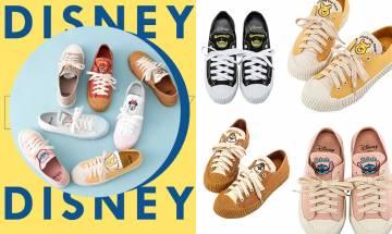 迪士尼百搭帆布餅乾鞋,少女必買!小熊維尼、小叉、小飛象、大鼻鋼牙全部都有!|早買早享受