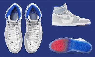 新款灰藍調Air Jordan 1 High Zoom「Racer Blue」香港區將可抽籤入手 售價只需$1千多?|早買早享受