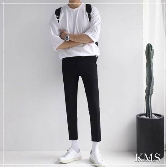 增高, 穿搭, 矮男, 增高穿搭, 九分褲, 方法, 鞋墊