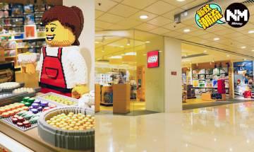LEGO STORE進駐屯門巿廣場 首現香港地道小食亭3D模型 新店更有多個打卡位